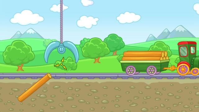 Railway: train for kids screenshot 12