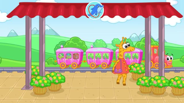 Railway: train for kids screenshot 13