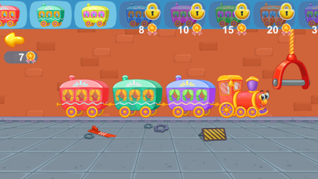 Railway: train for kids screenshot 14