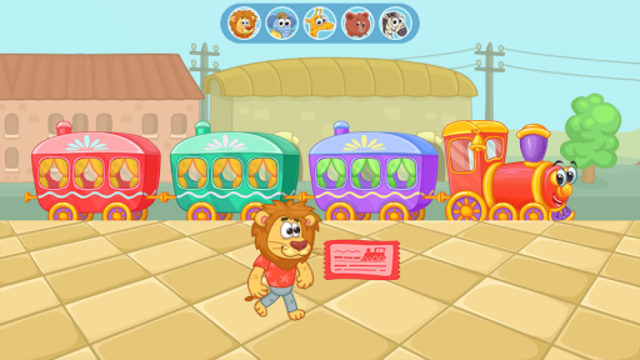 Railway: train for kids screenshot 16