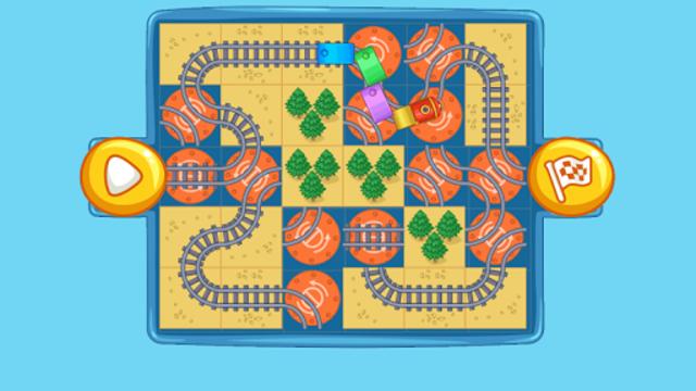 Railway: train for kids screenshot 17