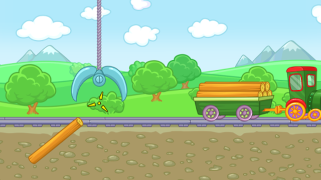 Railway: train for kids screenshot 18