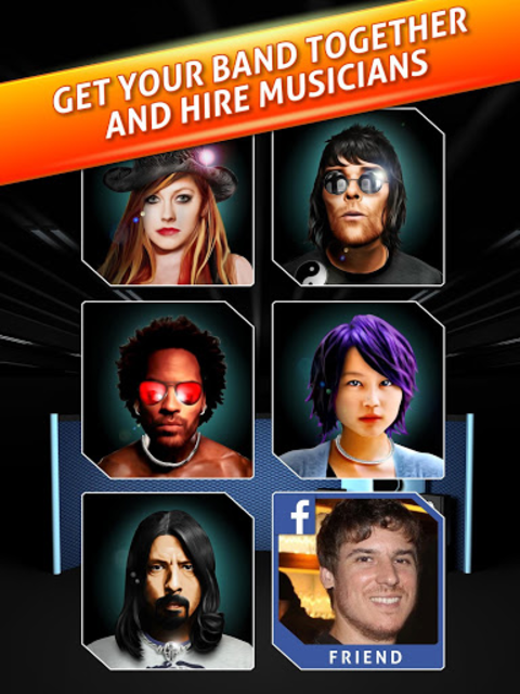 Rock Life - Guitar Legend screenshot 8