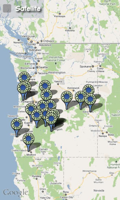 Moto mApps Oregon screenshot 2