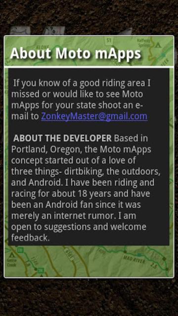 Moto mApps Oregon screenshot 5