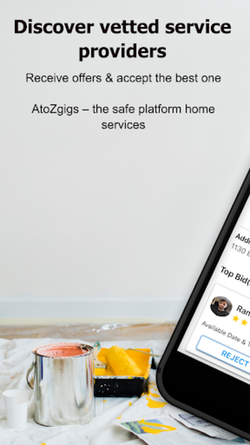 AtoZ Gigs: Nearby Service - Hire / Find Local Jobs screenshot 3