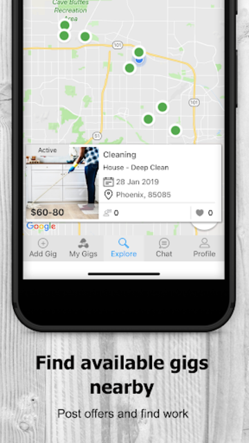 AtoZ Gigs: Nearby Service - Hire / Find Local Jobs screenshot 5