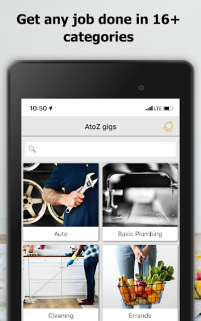 AtoZ Gigs: Nearby Service - Hire / Find Local Jobs screenshot 7