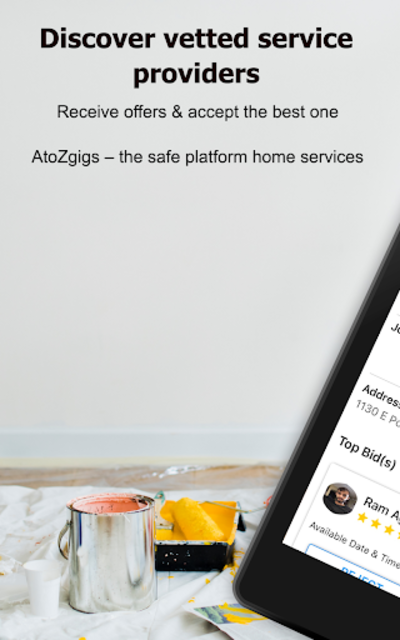 AtoZ Gigs: Nearby Service - Hire / Find Local Jobs screenshot 9