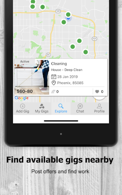AtoZ Gigs: Nearby Service - Hire / Find Local Jobs screenshot 11