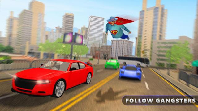Flying Super Granny Hero Adventure screenshot 2