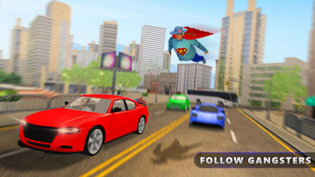 Flying Super Granny Hero Adventure screenshot 6