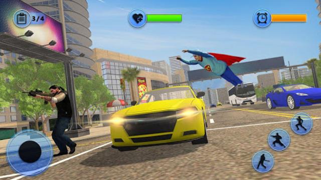 Flying Super Granny Hero Adventure screenshot 7