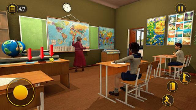 Scary Granny Teacher HighSchool screenshot 1