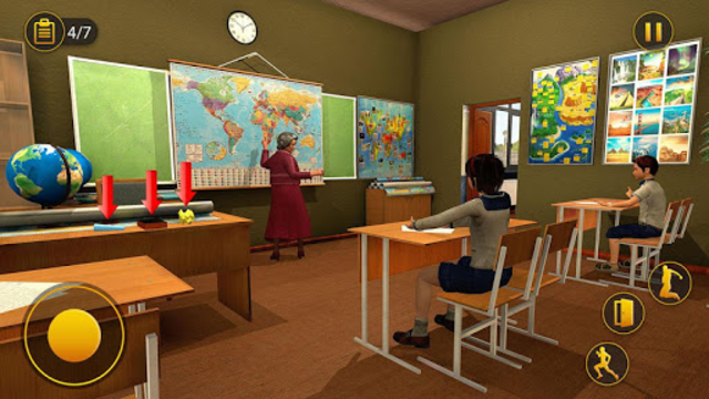 Scary Granny Teacher HighSchool screenshot 7