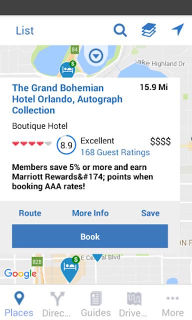 AAA Mobile screenshot 5