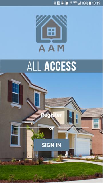 AAM All Access screenshot 1