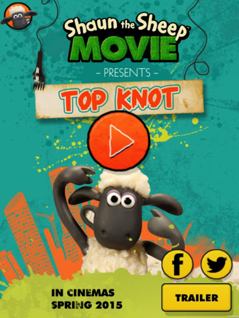 Shaun the Sheep Top Knot Salon screenshot 7