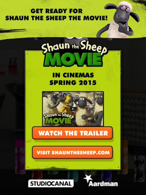 Shaun the Sheep Top Knot Salon screenshot 12