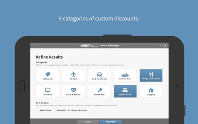 AARP Member Benefits screenshot 12