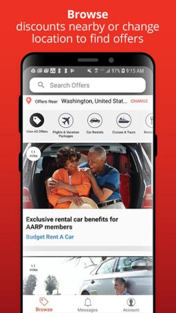 AARP Member Benefits screenshot 1