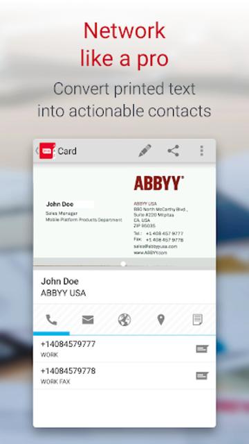 About business card reader pro business card scanner google play business card reader pro business card scanner screenshot 4 colourmoves