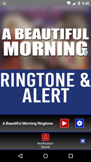 A Beautiful Morning Ringtone screenshot 2