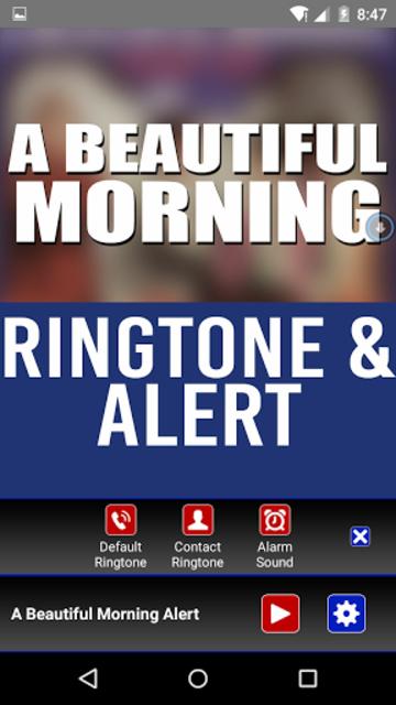 A Beautiful Morning Ringtone screenshot 3