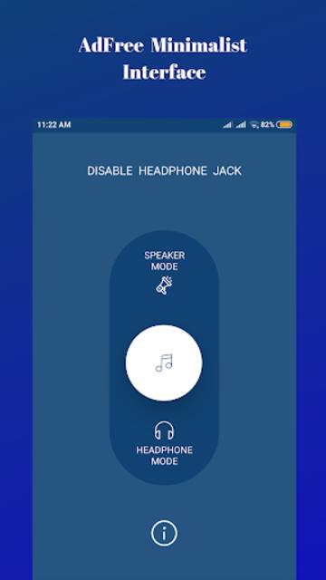 Disable Headphone(Enable Speaker) screenshot 2