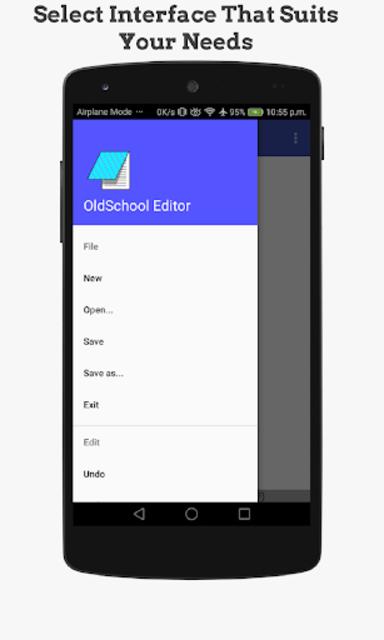 OldSchool Editor : Text Editor screenshot 2
