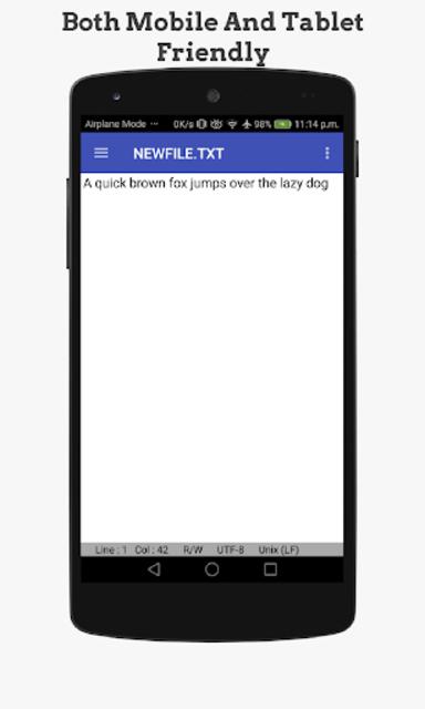 OldSchool Editor : Text Editor screenshot 3