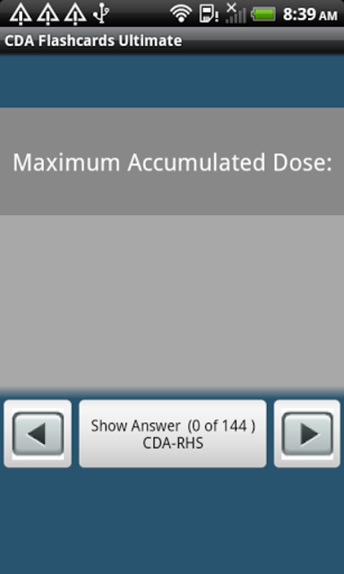 CDA Flashcards Ultimate screenshot 2