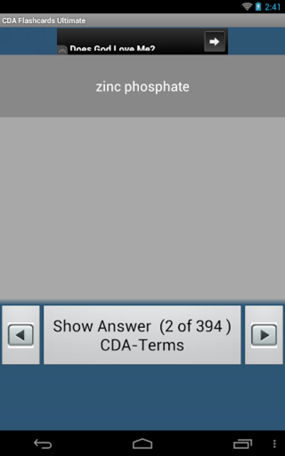 CDA Flashcards Ultimate screenshot 6