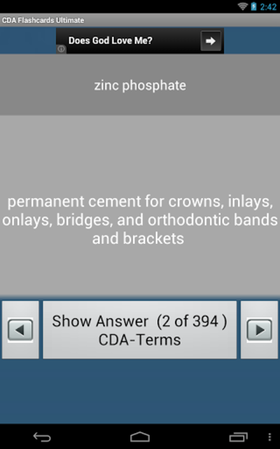 CDA Flashcards Ultimate screenshot 7