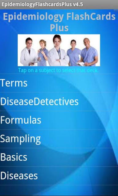 Epidemiology Flashcards Plus screenshot 1