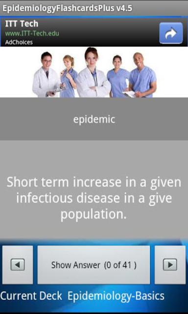 Epidemiology Flashcards Plus screenshot 2