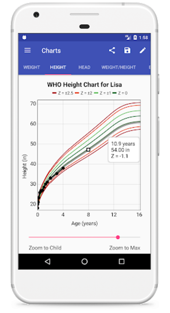 Child Growth Tracker screenshot 4