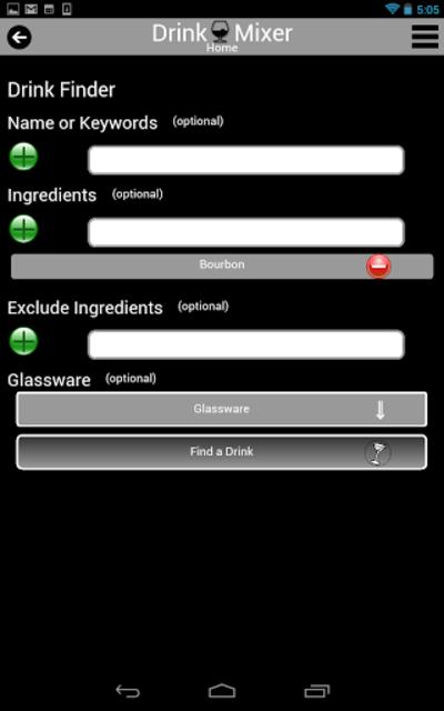 Drink Mixer FREE drink recipes screenshot 9