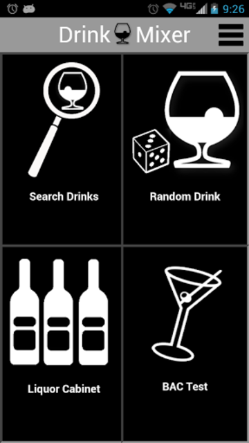 Drink Mixer FREE drink recipes screenshot 1