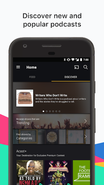 Acast - Podcast Player screenshot 2
