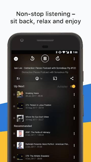 Acast - Podcast Player screenshot 4