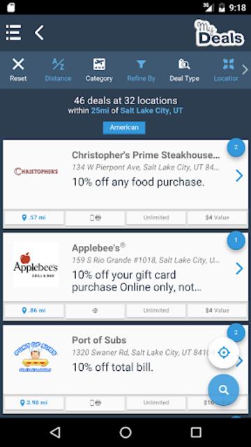 My Deals Mobile screenshot 2