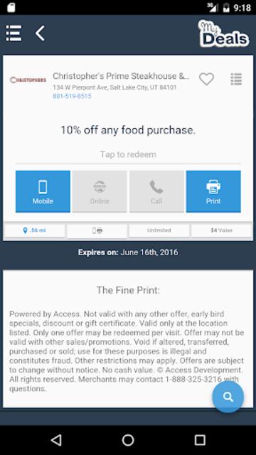 My Deals Mobile screenshot 3
