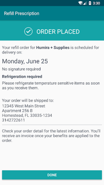 Accredo screenshot 3