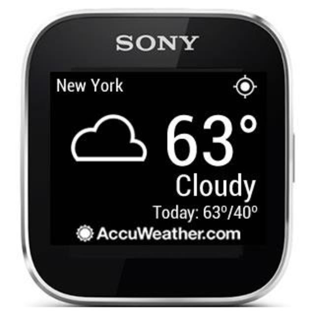 AccuWeather - Sony SmartWatch screenshot 1