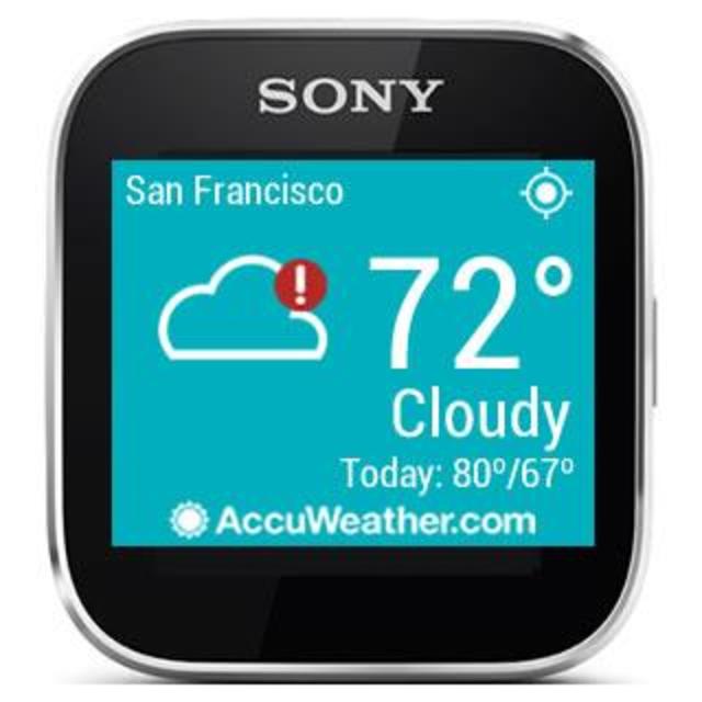 AccuWeather - Sony SmartWatch screenshot 4
