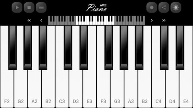 Ace Piano screenshot 1