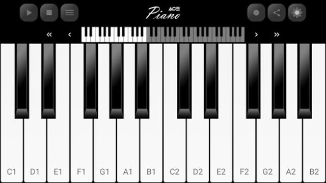 Ace Piano screenshot 2