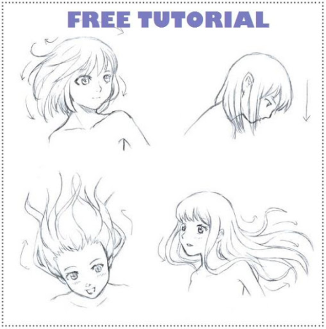Learn How to Draw Manga Tutorial screenshot 1