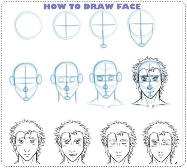 Learn How to Draw Manga Tutorial screenshot 10